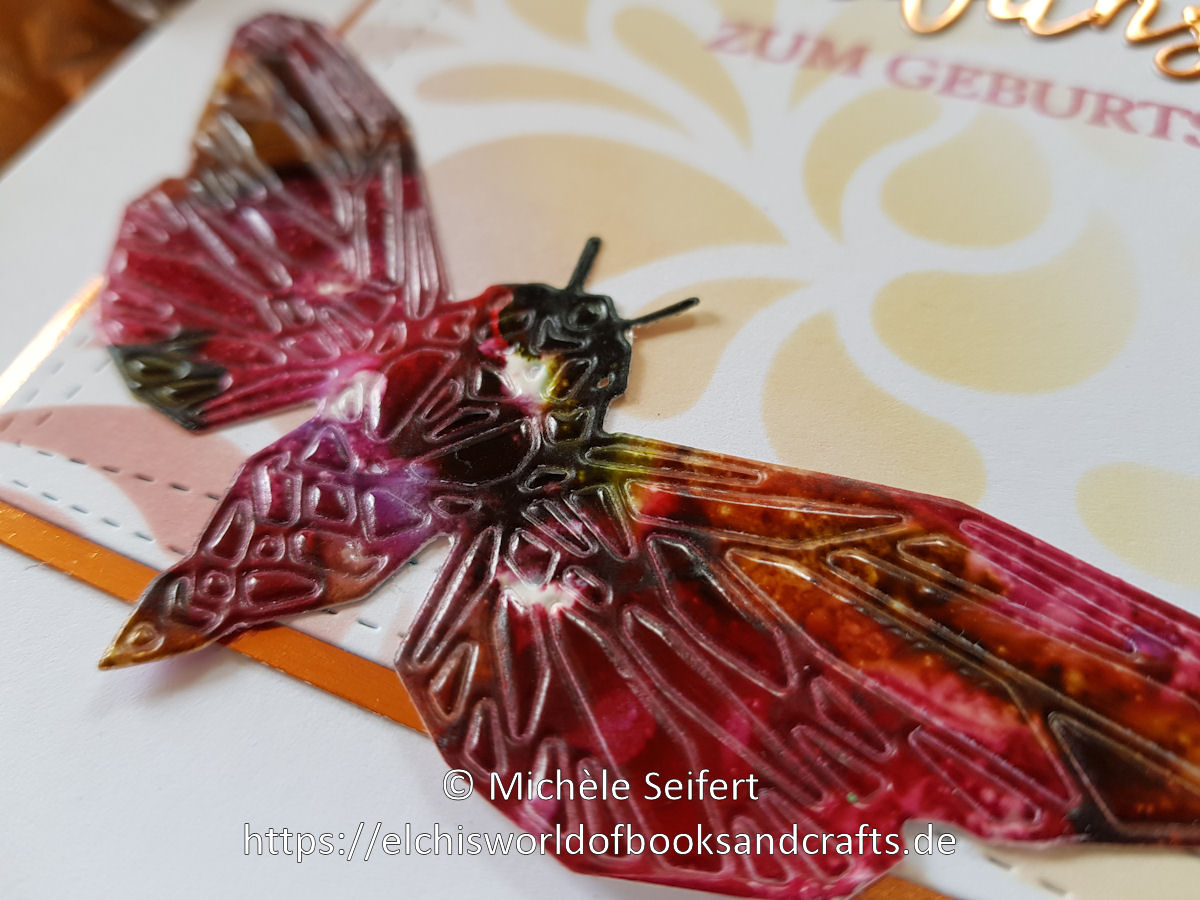 Alcohol Inks - Sizzix - Tim Holtz - Geo Insects - Creative Depot - Distress Oxide - Altenew
