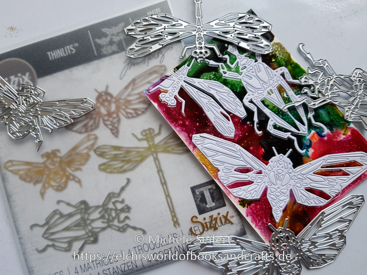 Alcohol Inks - Sizzix - Tim Holtz - Geo Insects