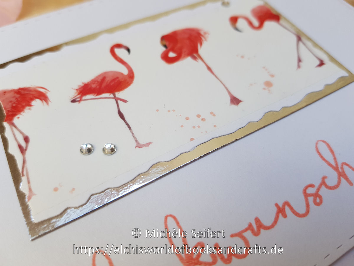Alexandra Renke - Washi Tape - Flamingos