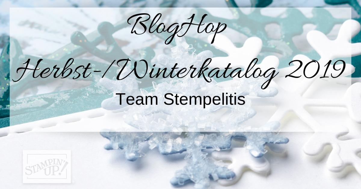 Banner - BlogHop - SU - Herbst - Winterkatalog 2019 - Team Stempelitis