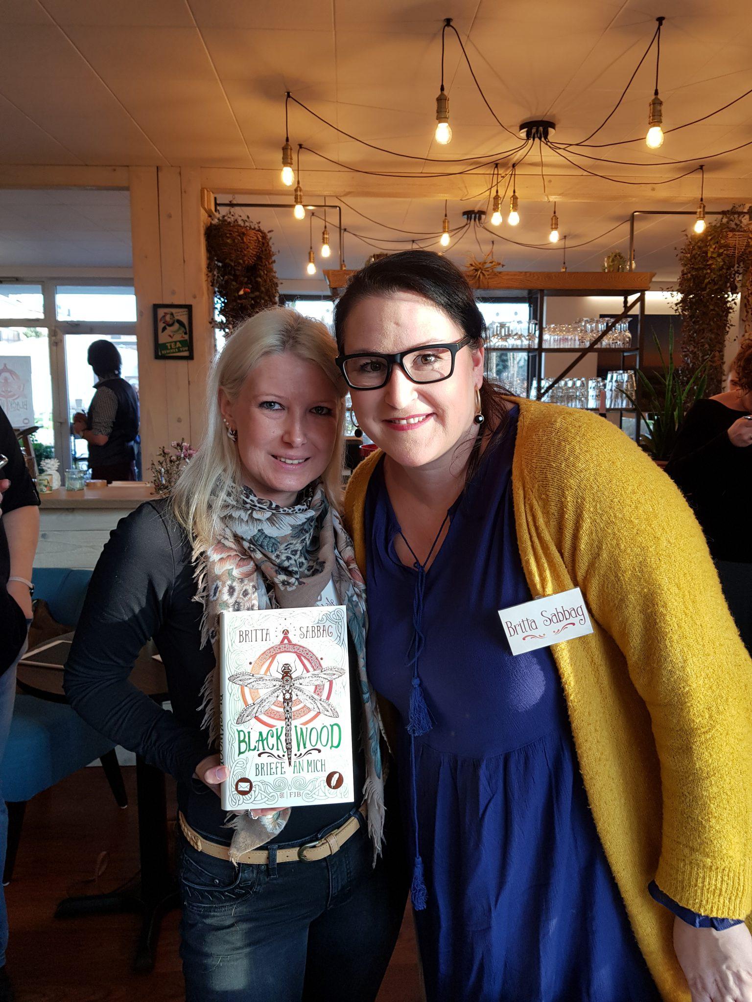 Blogger-Event | Blackwood - Briefe für mich | Britta Sabbag