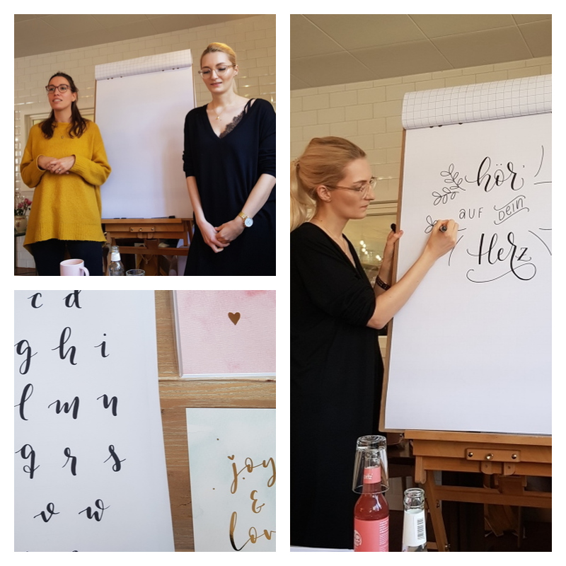 Blogger-Event | Blackwood - Briefe für mich | Britta Sabbag | Handlettering | Workshop | mayandberry