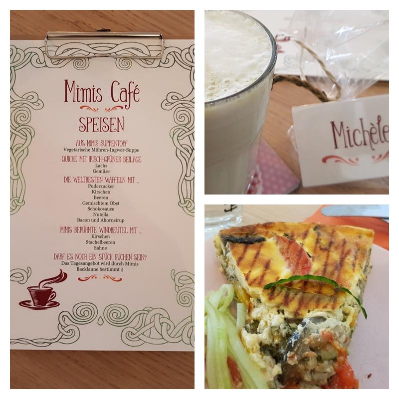 Blogger-Event | Blackwood - Briefe für mich | Britta Sabbag | Speisekarte zum Buch | Green Chai Latte | Gemüsequiche