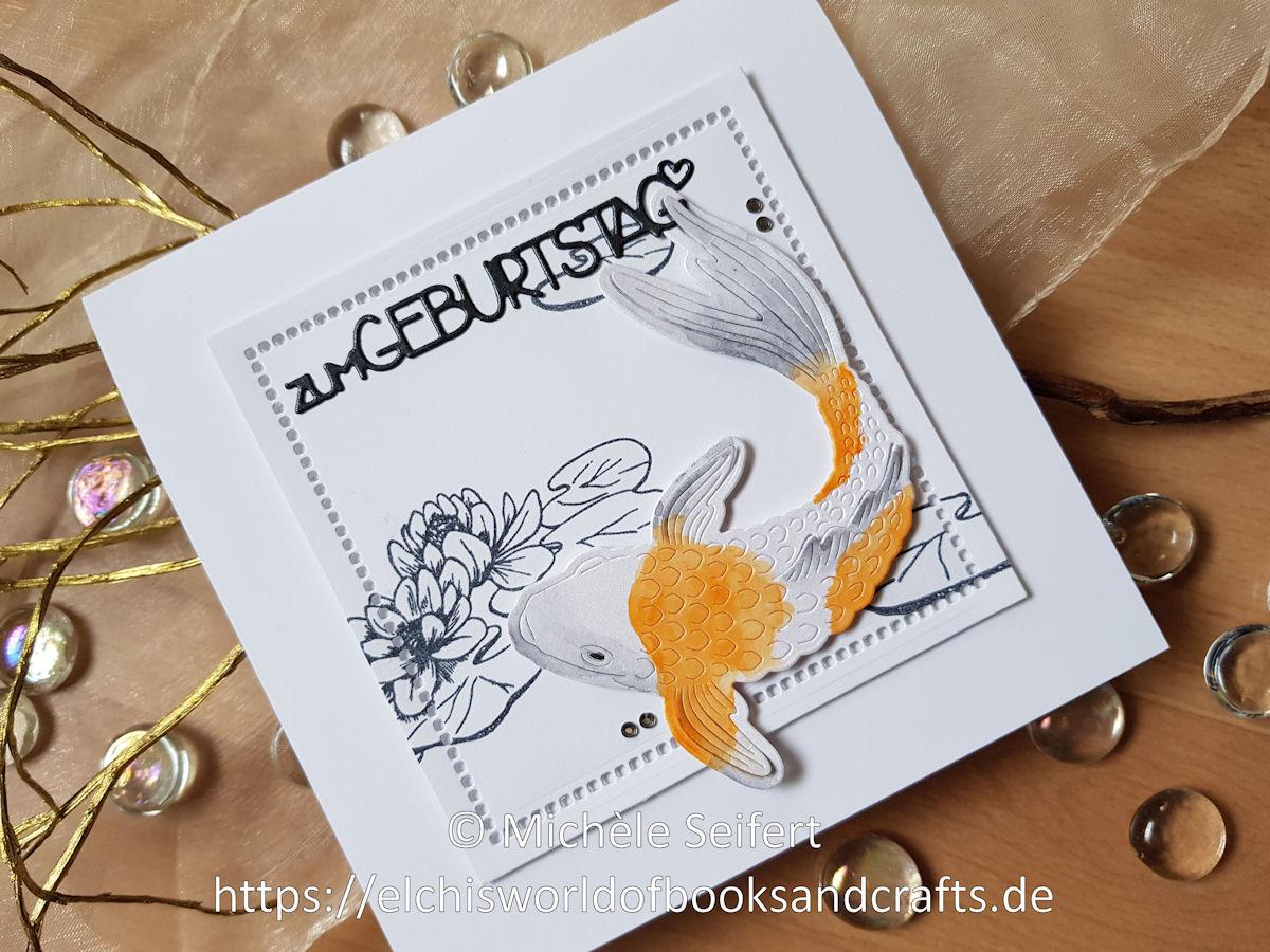 Hero Arts - Koi - Charlie und Paulchen - Zum Geburtstag - Craft Consortium - The Riverbank