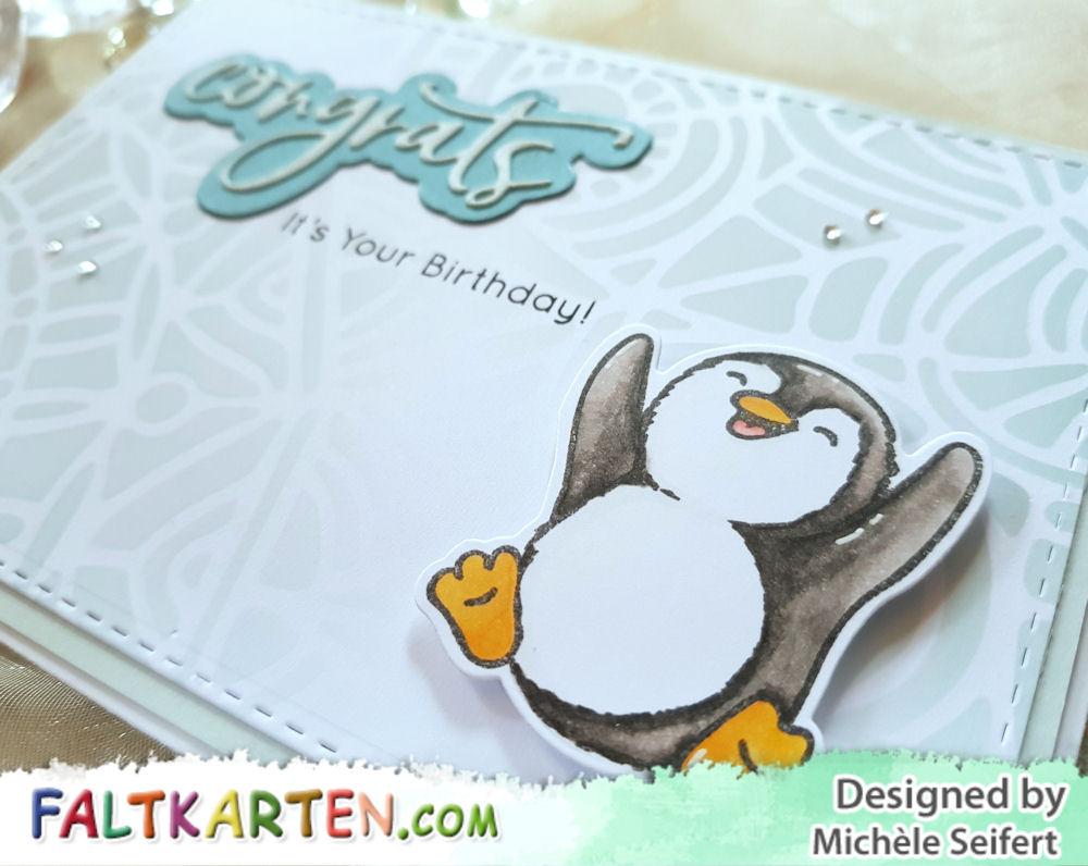 Kulricke - Hurra Felix - Picket Fence Studios - Congrats - Studio Light - Geburtstagskarte - Birthday Card