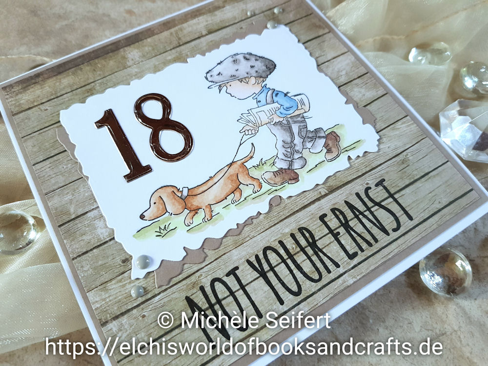 Lili of the Valley - LOTV - Sunday Stroll - DaniPeuss - Zuckerbrot - Geburtstagskarte - Birthday Card