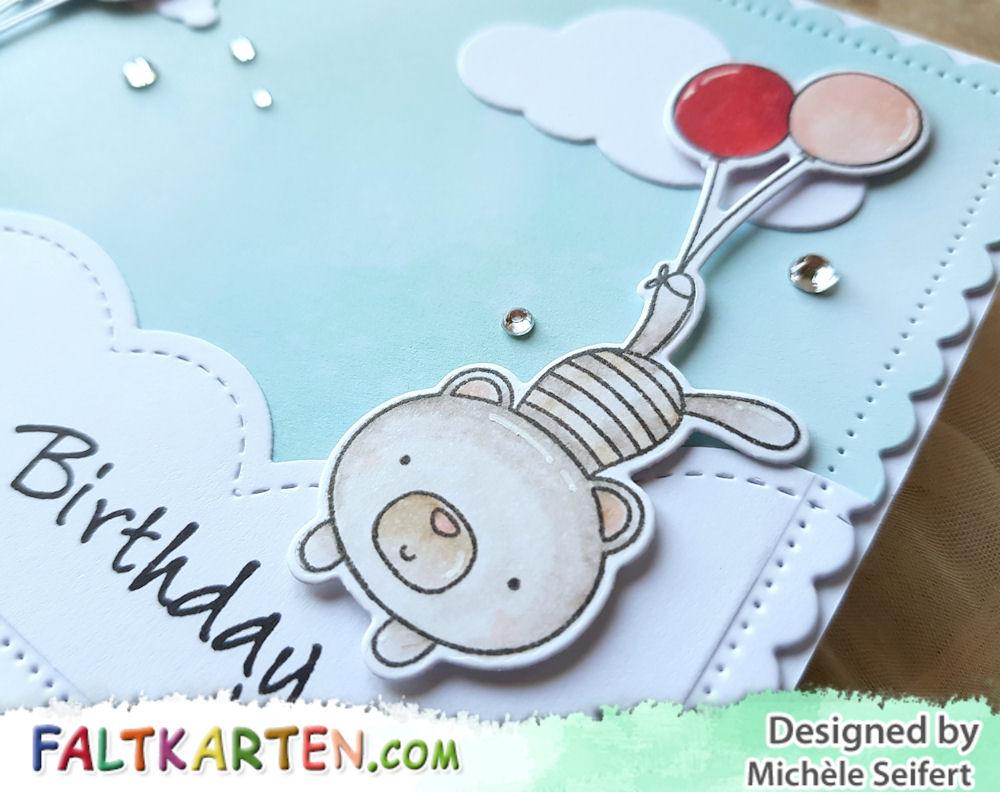 My Favorite Things - MFT - Balloon Besties - Geburtstagskarte - Birthday Card