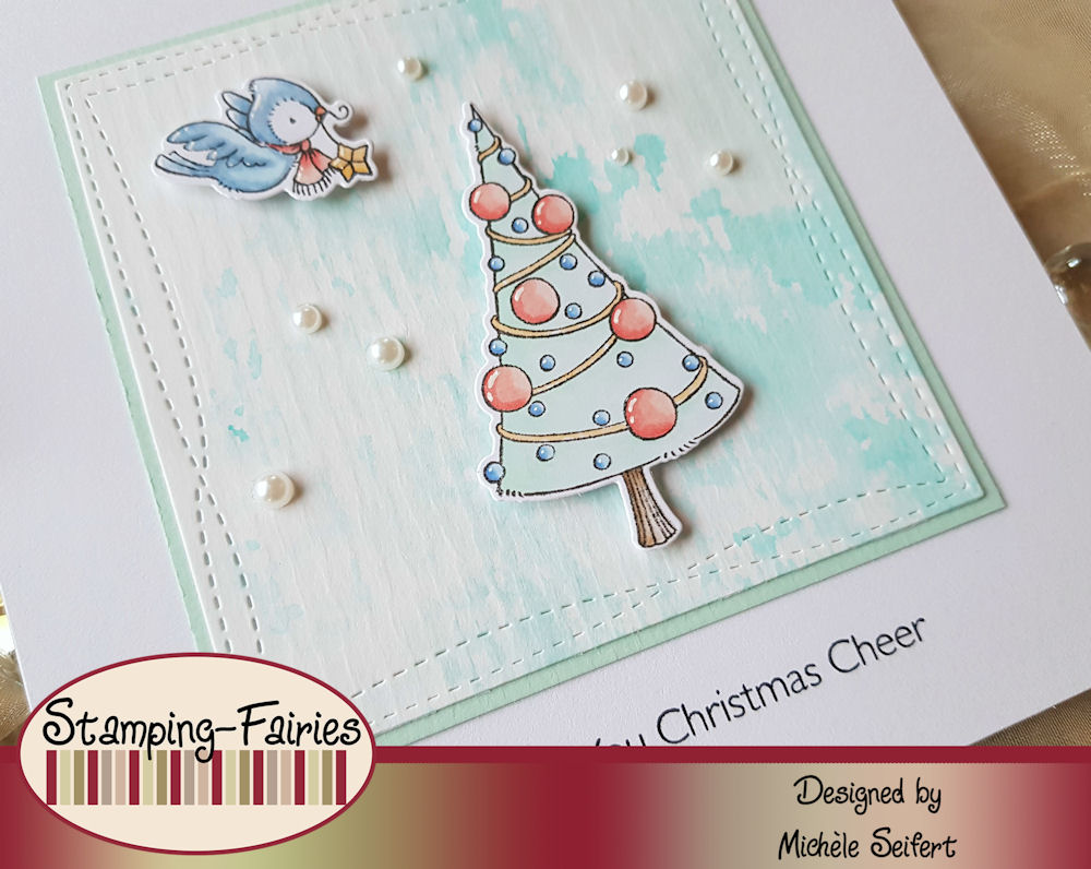 MFT - My Favorite Things - Christmas Cheer - Weihnachtskarte - Christmas Card