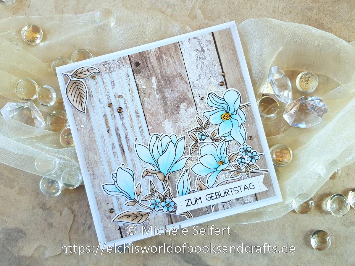 MFT - Floral Focus - Skinny Stripes - Creative Depot - Geburtstag - Kaisercraft - wood - Karte