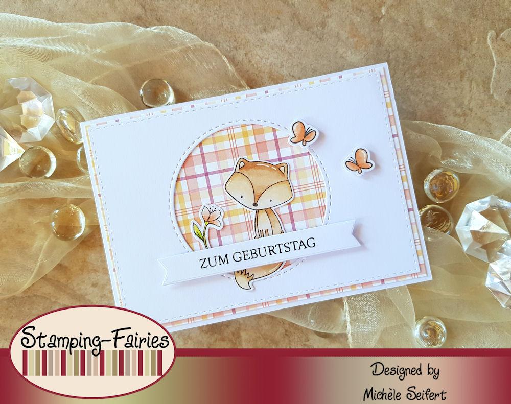 My Favorite Things - MFT - Let's Curl Up - Die-Namics - Fishtail Foundations - Creative Depot - Glückwünsche - Geburtstagskarte - Birthday Card