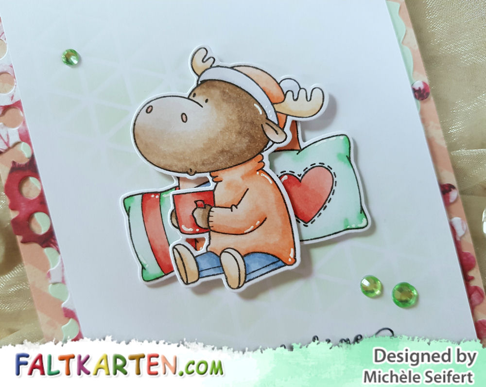 My Favorite Things - MFT - Merry Christmoose - Alexandra Renke – Viele Weihnachtsgrüße - Creative Depot – Allerlei Weihnachtsgrüße - Weihnachtskarte - Christmas Card