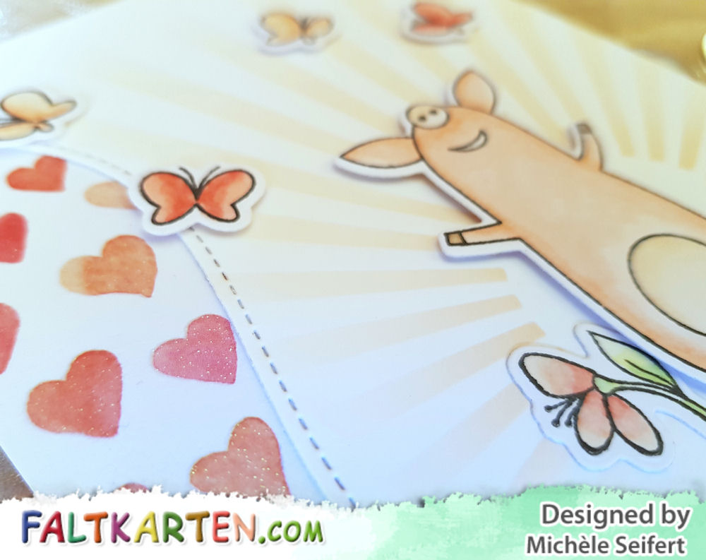 My Favorite Things - MFT - Sow Much Cuteness - Adorable Elephants - Tweet Friends - Geburtstagskarte