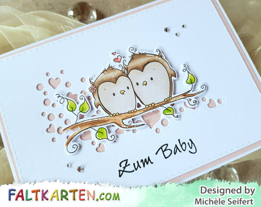 My Favorite Things - MFT - You And Me Together - Babykarte - Baby Card