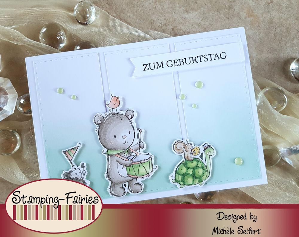 My Favorite Things - MFT - You're My Jam - Creative Depot - Glückwünsche - Geburtstagskarte