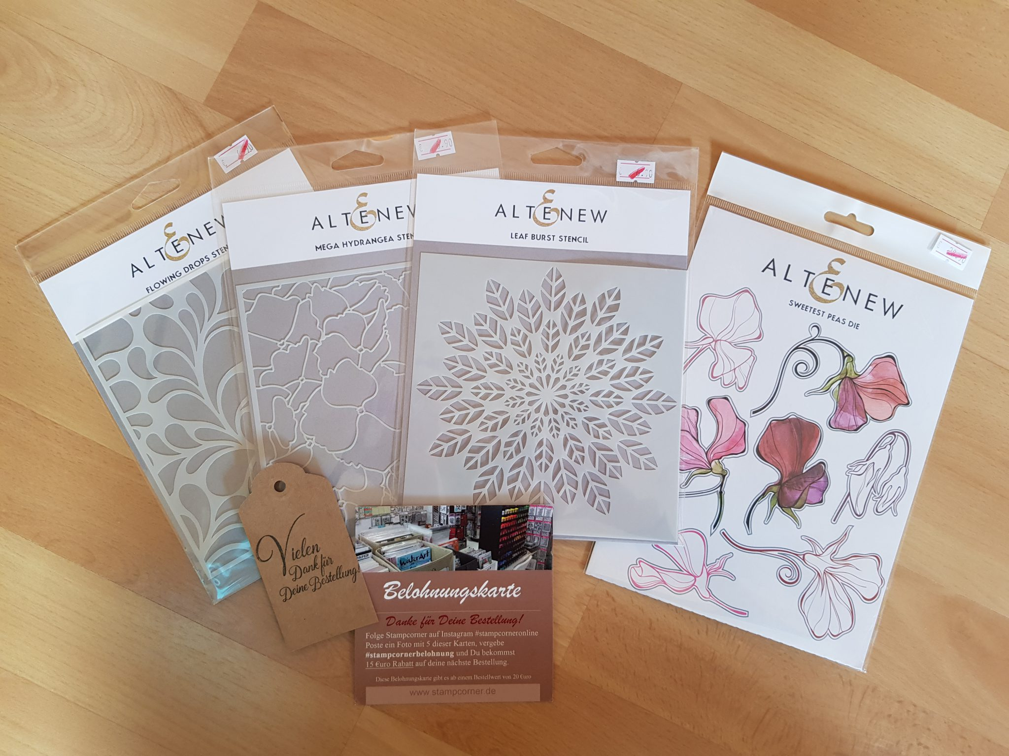 Card Making Haul | Altenew | Stencils