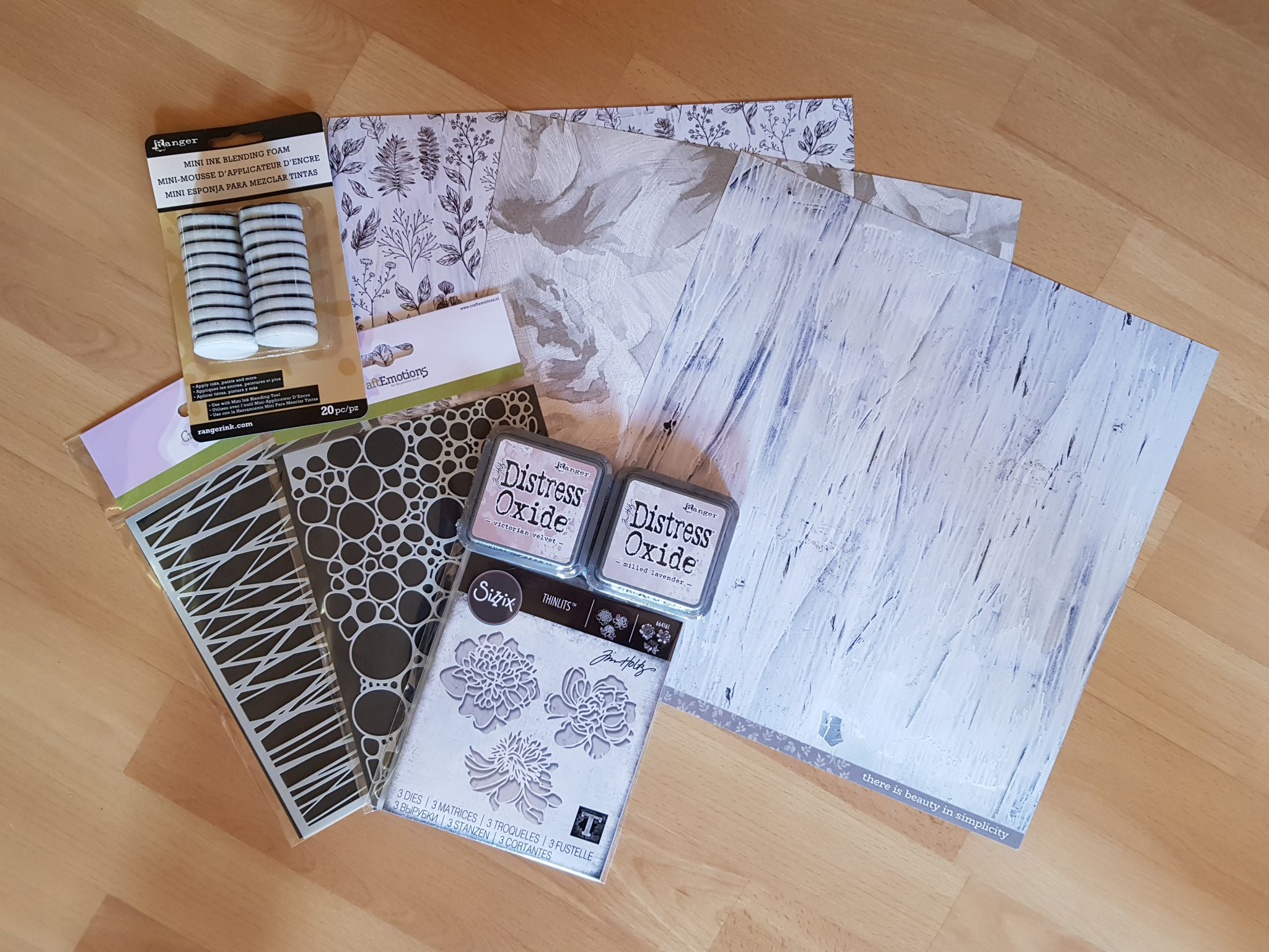 Card Making Haul | Distress Oxide | Sizzix | Craft Emotions | KaiserCraft