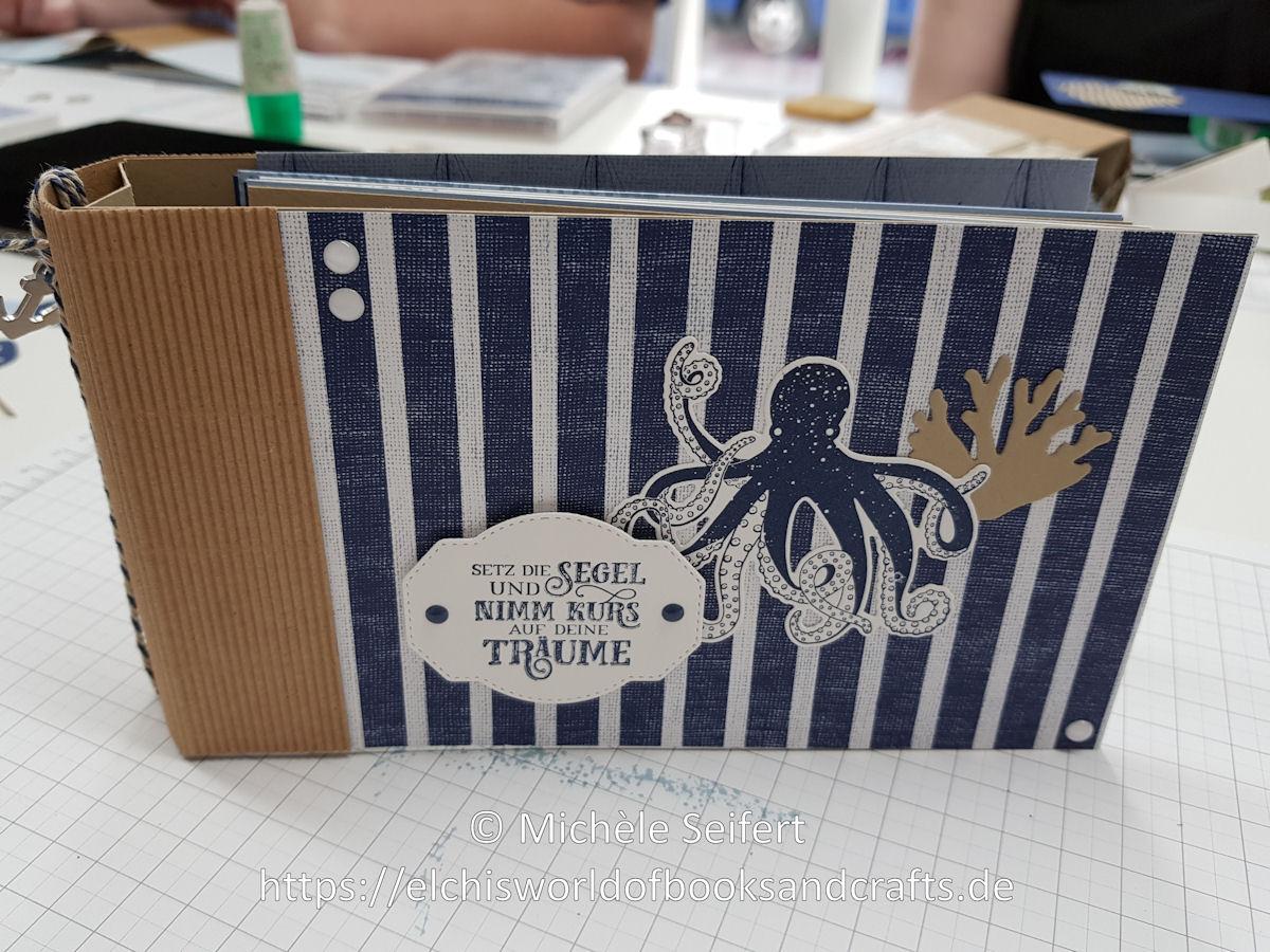SU - Meer der Möglichkeiten - Setz die Segel - Glück und Meer - Luv und Lee - Unter dem Meer - marineblau - savanne - Minialbum