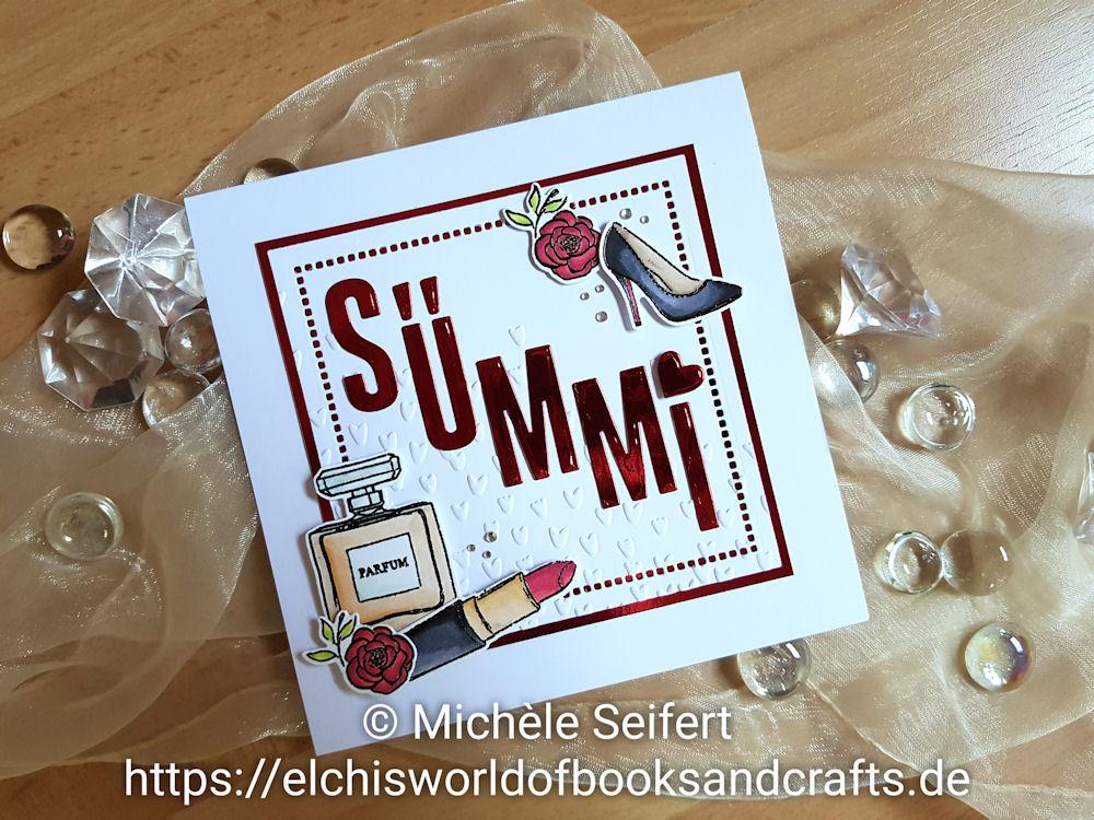 Stampin' Up! - SU - Wahre Klasse - So Stilvoll - Docrafts - Xcut - Wedding Alphabet and Numbers - Geburtstagskarte - Birthday Card