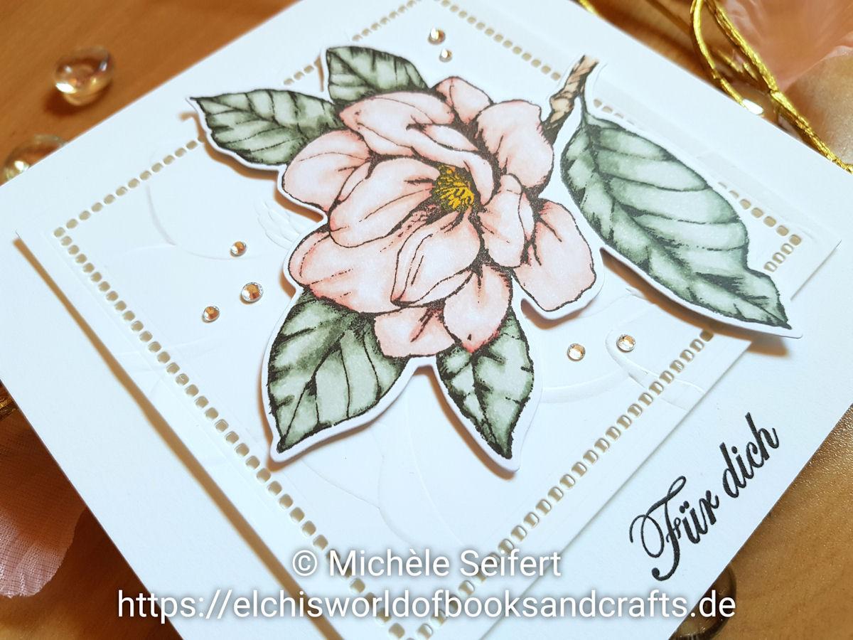 SU - Stampin' Up - Magnoliengruss - Magnolienblüte - Magnolien - Good Morning Magnolia - Magnolia Memory - Magnolia Lane - Grusskarte - Copics