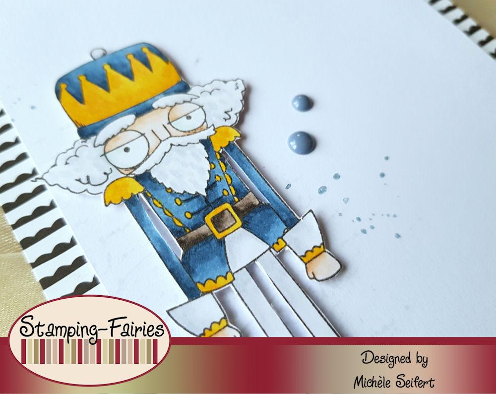 Stamping Bella - Oddball - Nutcracker - Stampin' Up! - Weihnachtsmix - Weihnachtskarte - Christmas Card
